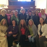Our beautiful group in Massachussetts giving their blessings to our BLESSED EARTH CRYSTALS