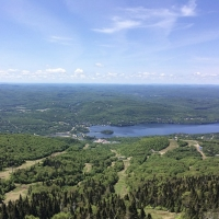 Releasing our BLESSED EARTH CRYSTALS into Mont-Tremblant, Quebec, Canada