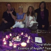 Ottawa Essence of Angels® Teachers supporting our BLESSED EARTH CRYSTAL ceremony