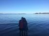 Holding hte space of LOVE as we release BLESSED EARTH CRYSTALs into the Pacific Ocean on Vancouver Island