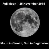 30 full moon