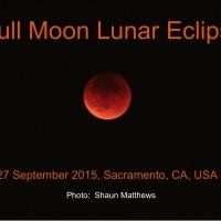 Full Moon Lunar Eclipse Sept 2015