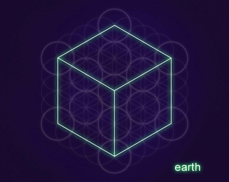 Earth Cube Hexahedron Lr