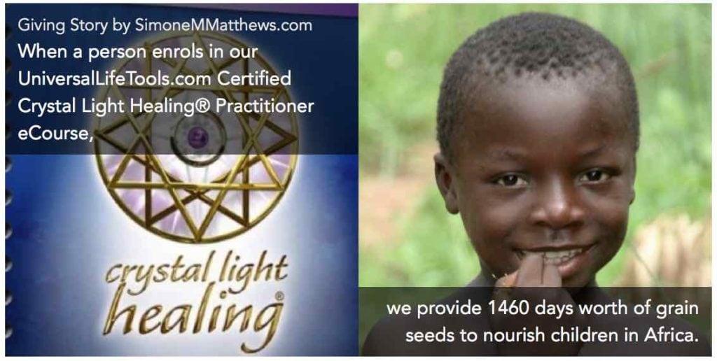 CLH grain seeds children africa