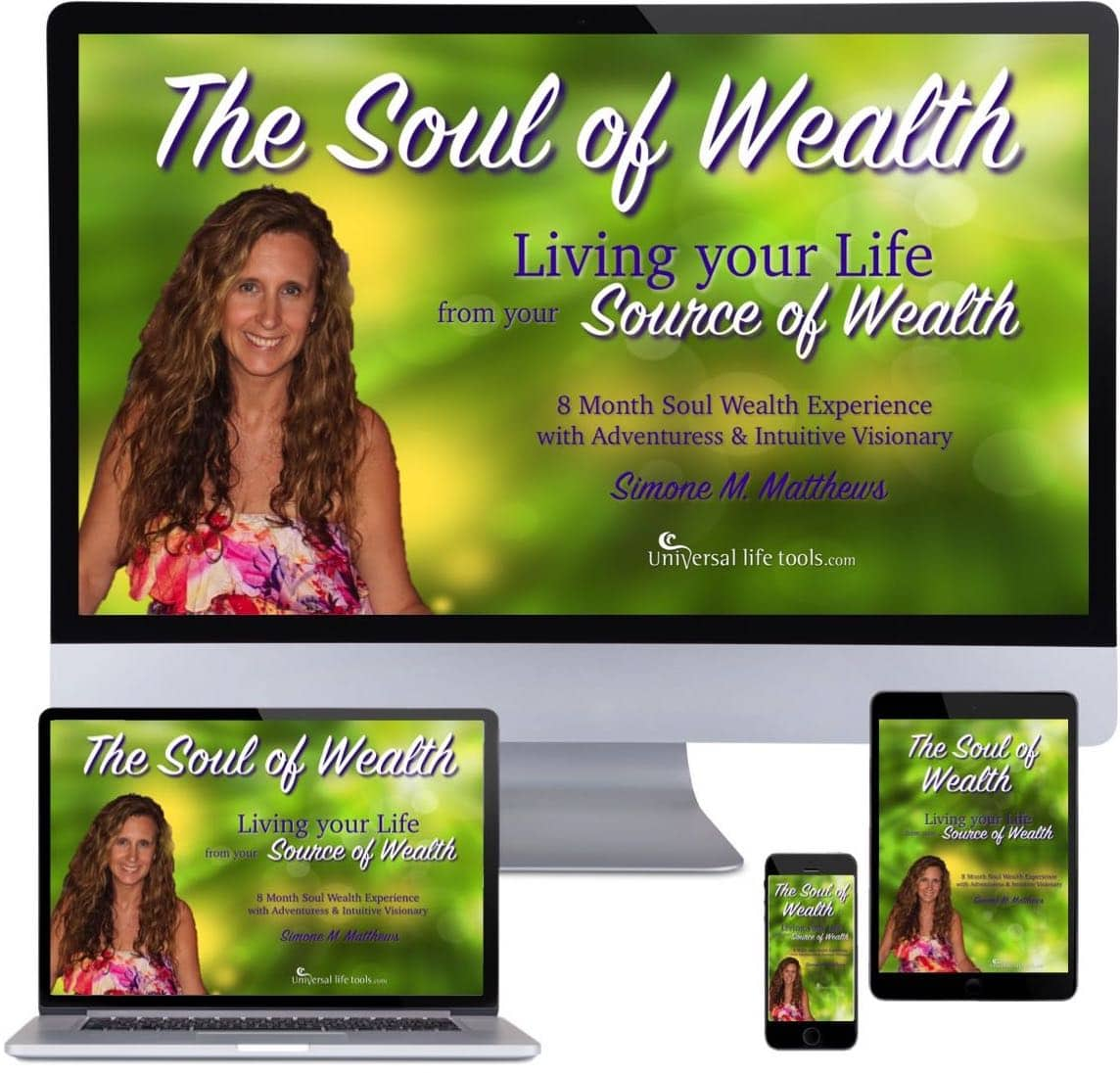 Monitors Living your Life from your Source of Wealth lr