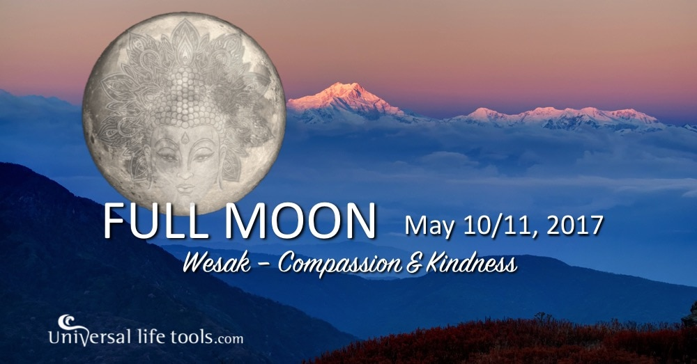 Wesak full moon may 10 11 2017 simone m matthews When is full moon april 2017