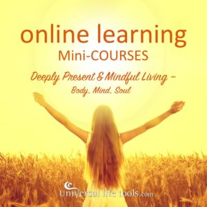 ONLINE Mini-COURSES: SelfStudy online learning for deeply present & mindful living.