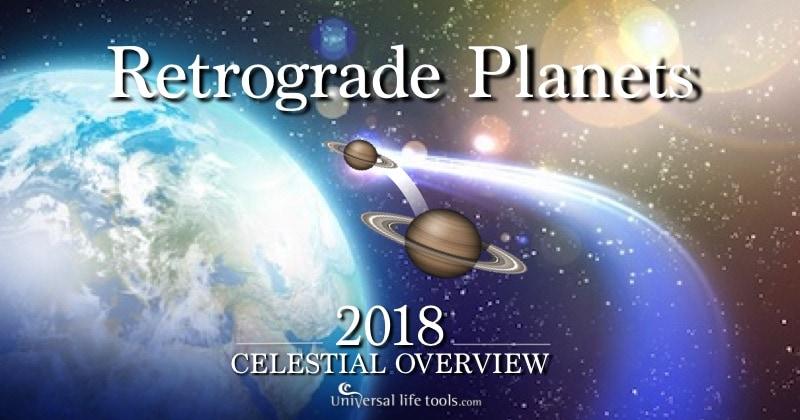 Retrograde Planets - 2018