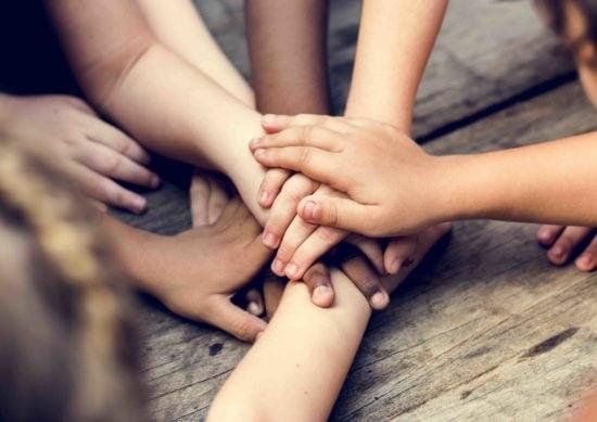hands belonging