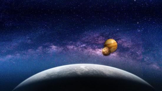 Galactic Centre Jupiter Venus