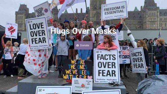 Hugs over Masks