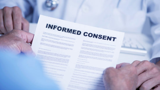 Informed Consent Vaccines