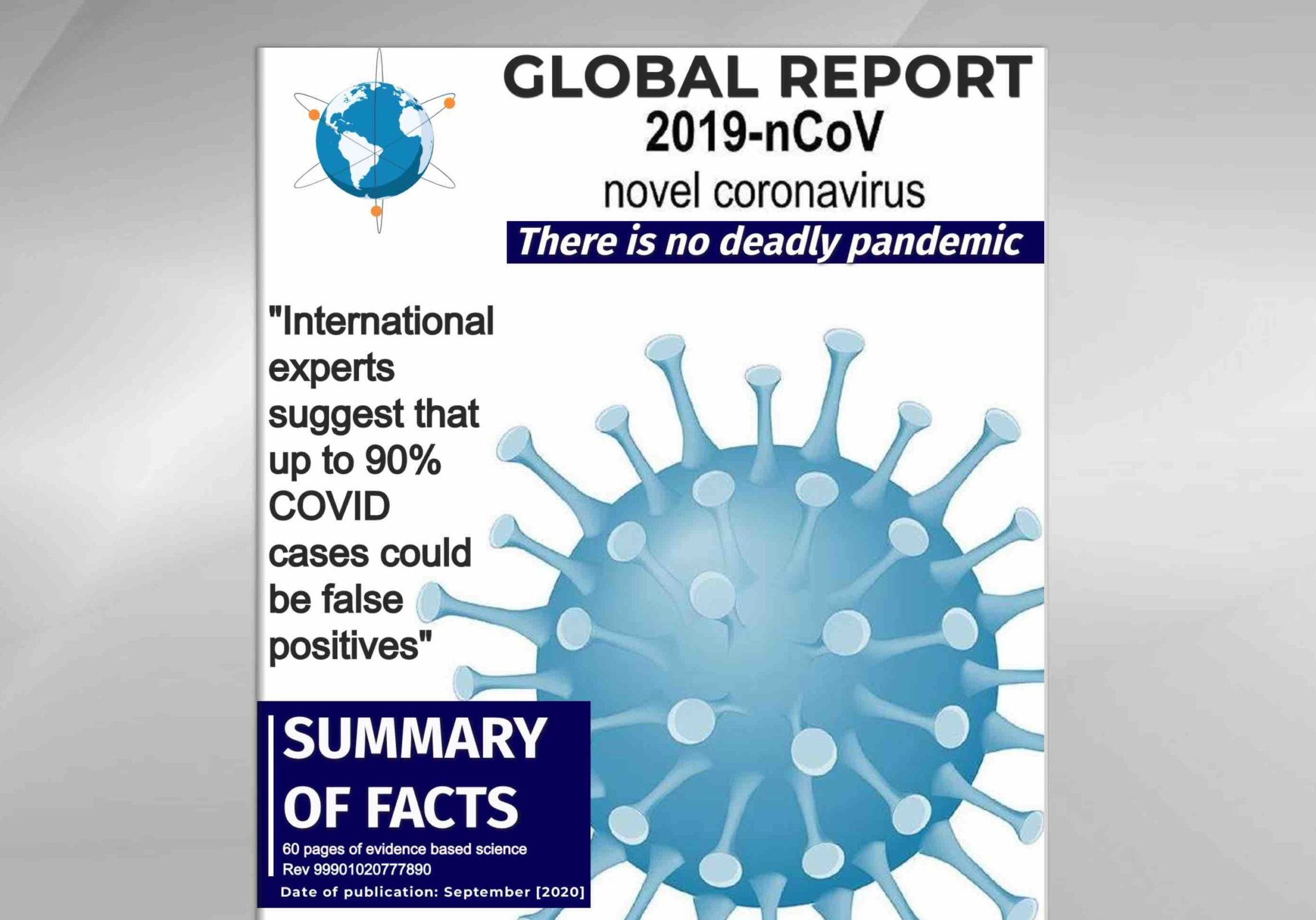 Global Report COVID Summary Facts